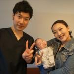 明石市在住の恥骨痛、産後太りに悩むママさんが来院されました!