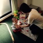 ママリュクスはお子様連れ大歓迎!託児スタッフが常勤です!